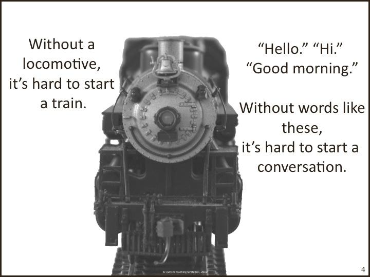 conversation train