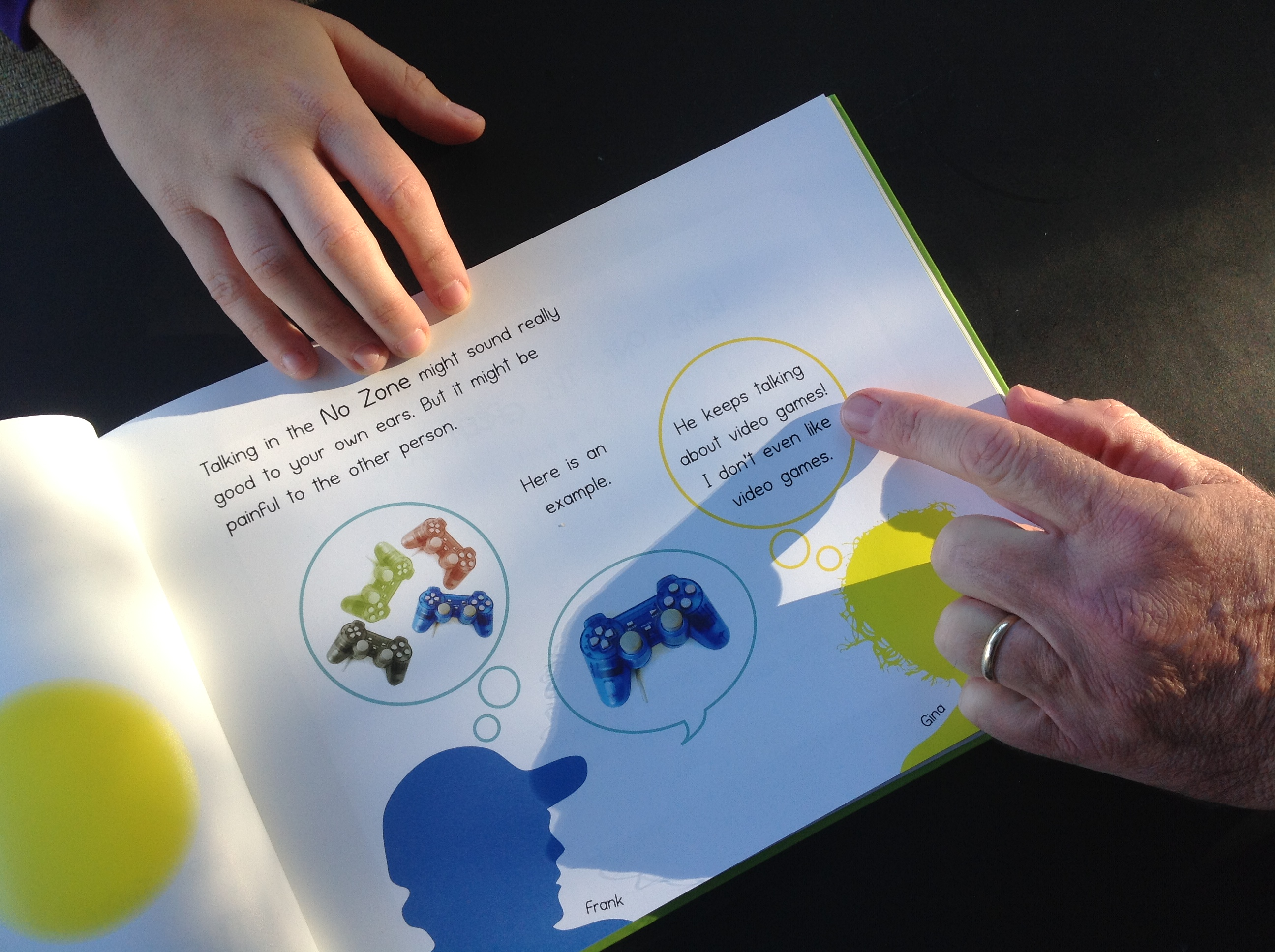 the green zone conversation book finding common ground in conversation for children on the autism spectrum