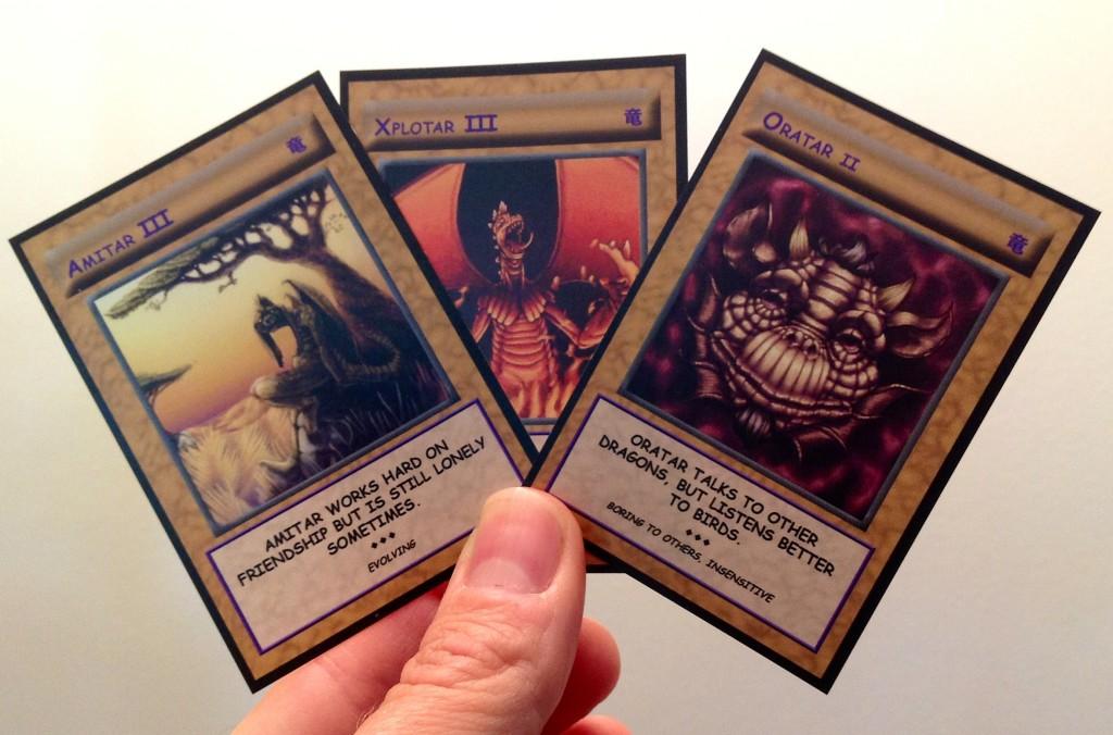 3 Ryuu Cards