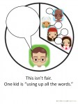 Pie chart social skills teaching strategy for children on the autism spectrum