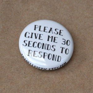 button created by autistic woman