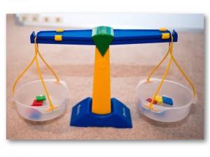 Balance, autism social skills teaching prop