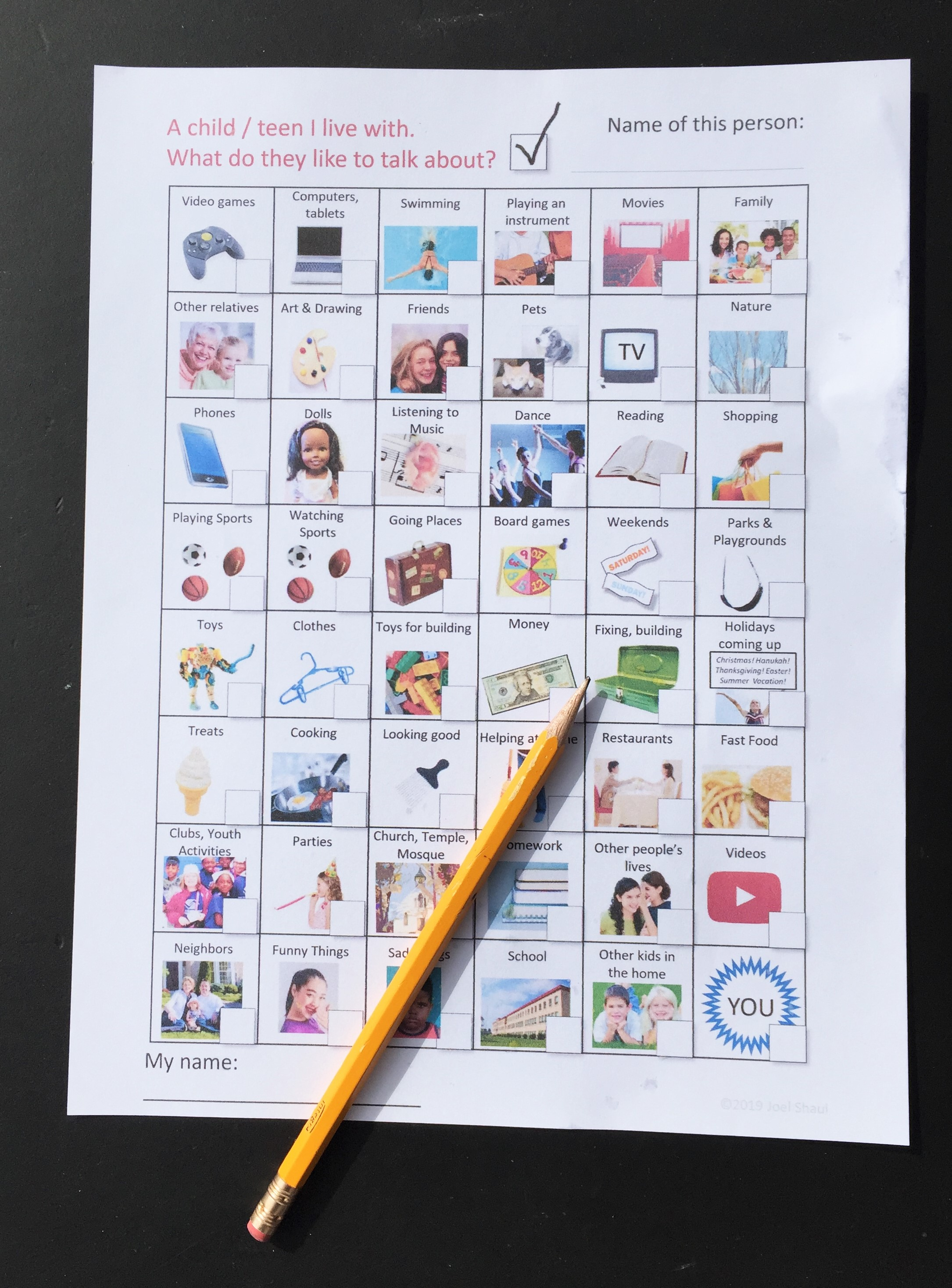 """Talk to Mom"" illustrated social skills worksheets for ..."