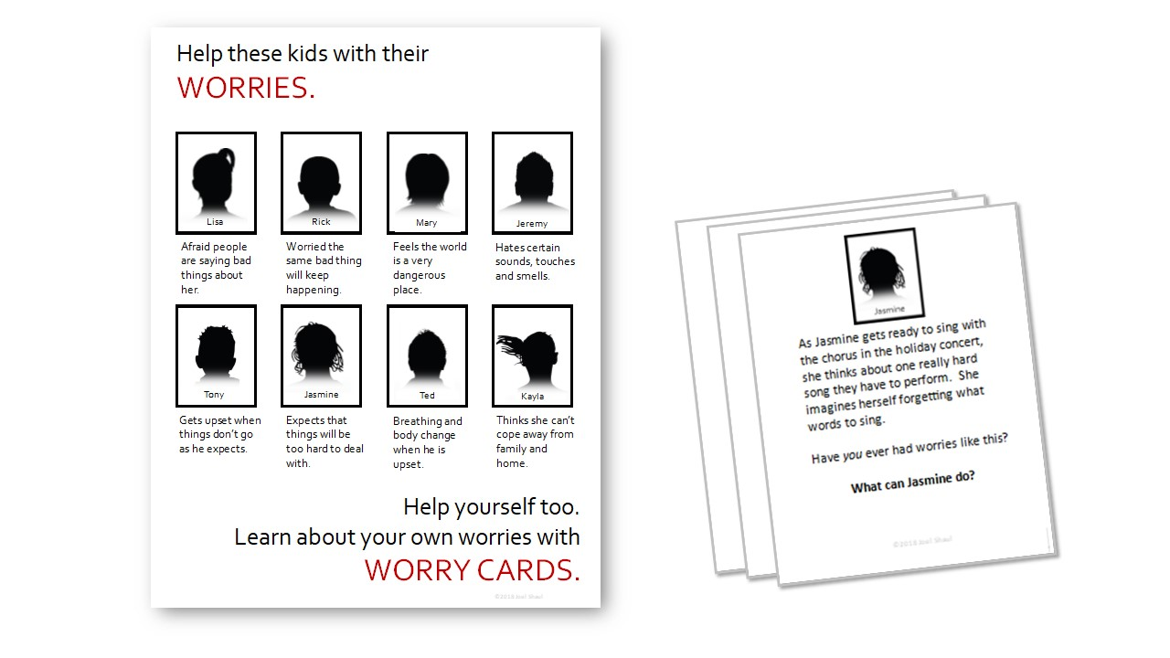 """Worry cards"""" – Free download card game activity to help kids"""