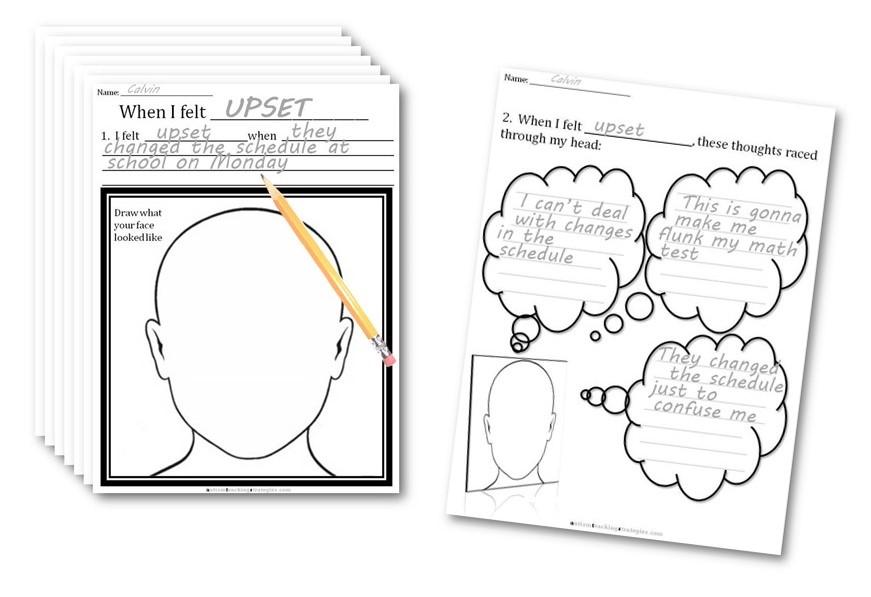 CBT Emotion Worksheets: Links to each worksheet series