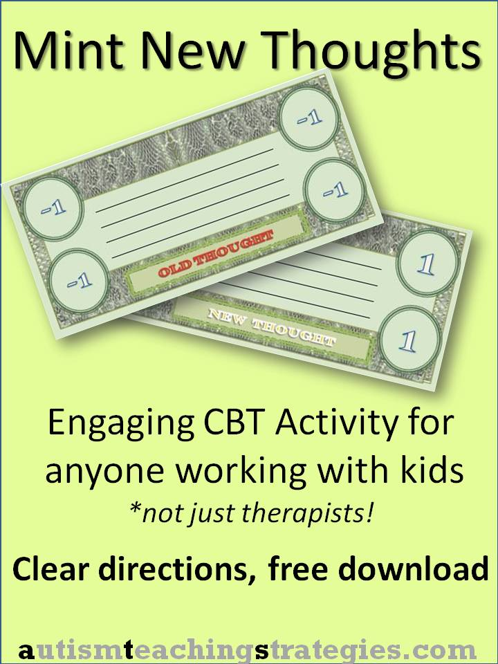 Cognitivebehavioral therapy teaching materials for children with – Free Cbt Worksheets