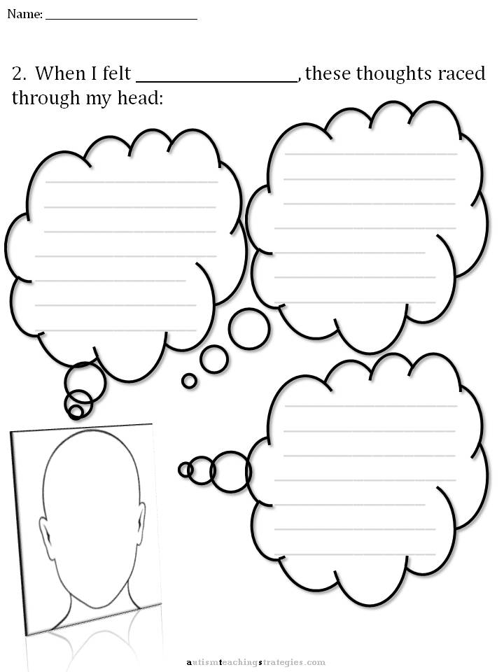 CBT Children's Emotion Worksheet Series: 7 Worksheets for Dealing ...