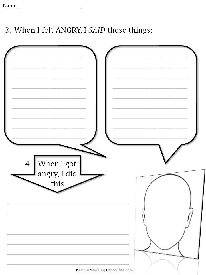CBT Childrens Emotion Worksheet Series 7 Worksheets for Dealing – Cognitive Therapy Worksheets
