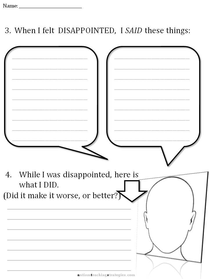 CBT Childrens Emotion Worksheet Series 7 Worksheets for Dealing – Rational Emotive Therapy Worksheet