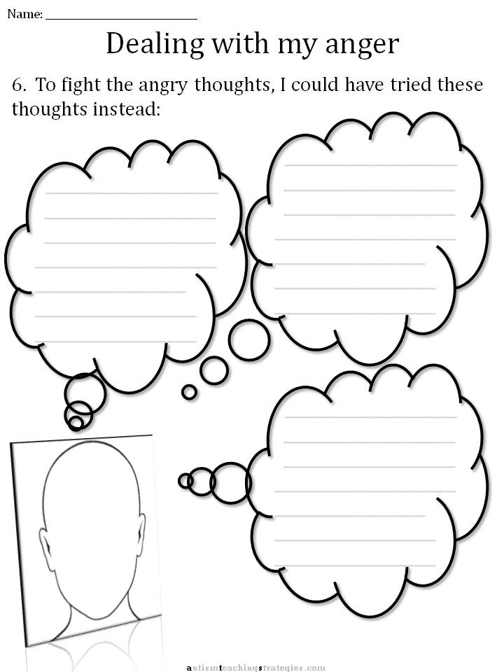 Printables Coping With Anger Worksheets cbt childrens emotion worksheet series 7 worksheets for dealing joel shaul lcsw