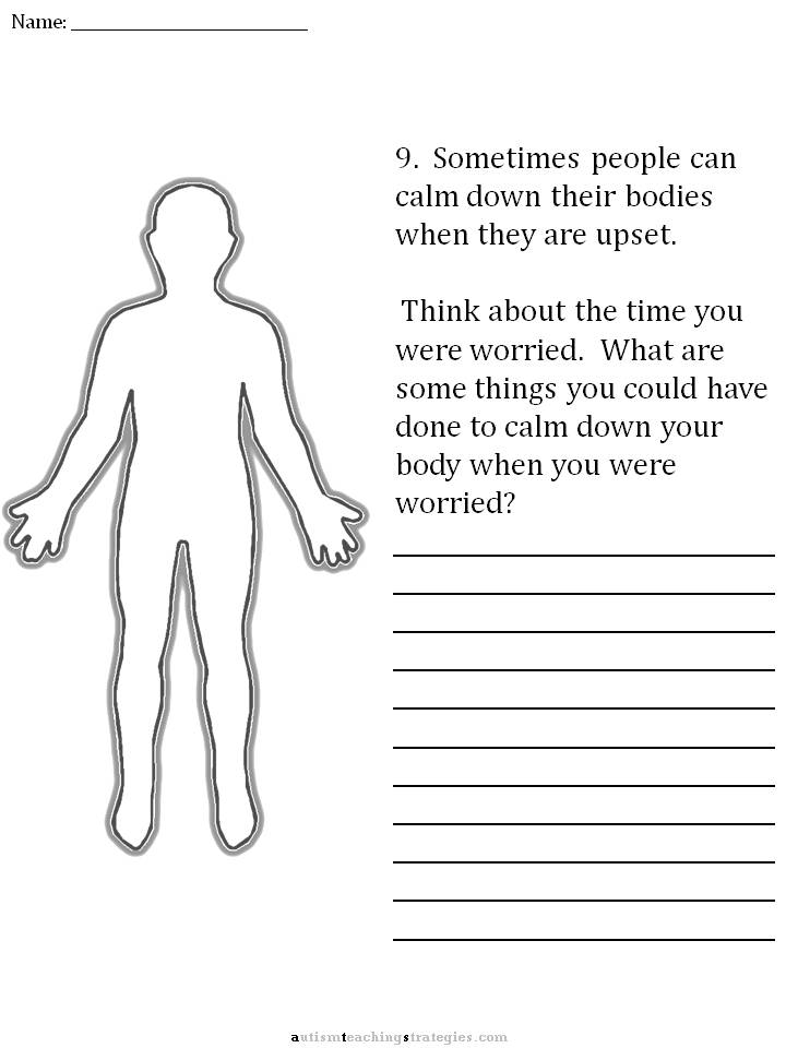 CBT Childrens Emotion Worksheet Series 7 Worksheets for Dealing – Anxiety Worksheets for Children