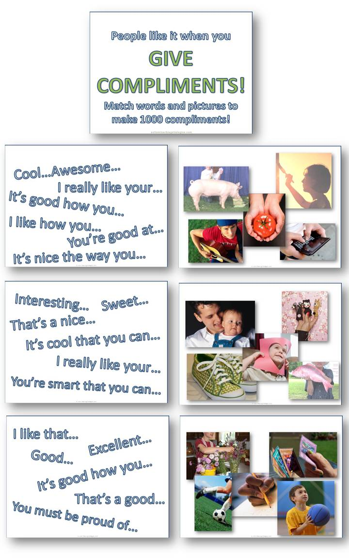 autism compliments social skills activity