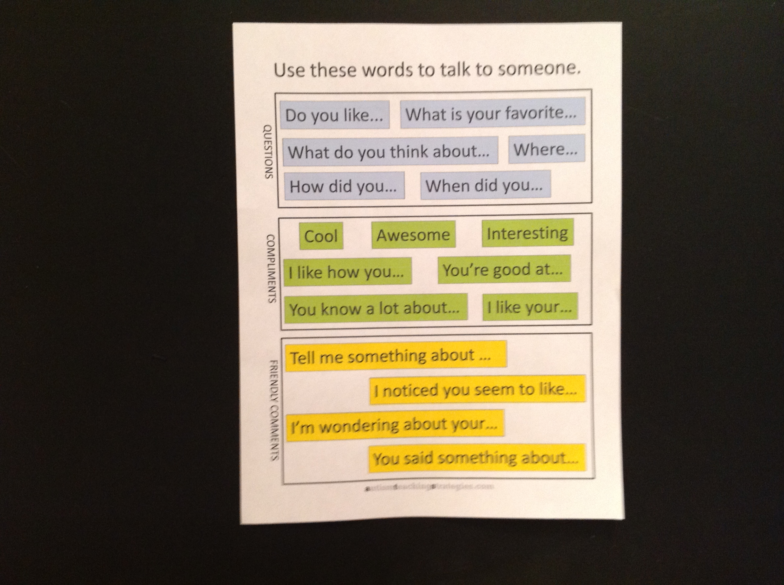 14 Simple Conversation Social Skills Kits For Children With Autism