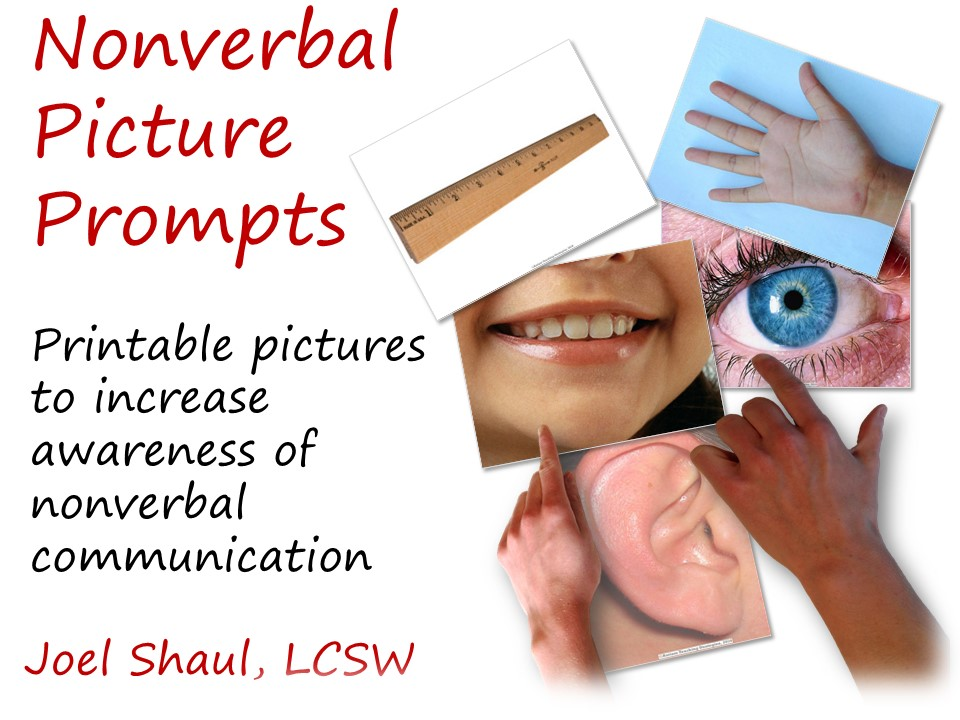 Nonverbal Communication Prompts For Kids With Asd Visual Prompts For You To Download See Previous Blog For Explanation Autismteachingstrategies Com