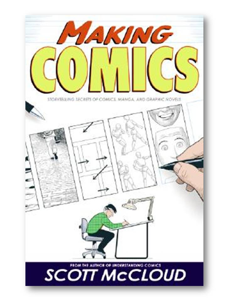 Image of Making Comics book