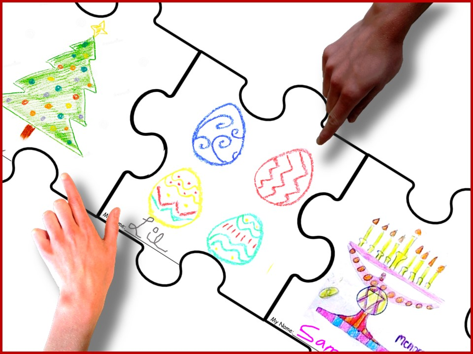 puzzle piece drawing sheets cooperative social skills activity for children on the autism spectrum and others - Children Drawing Sheets