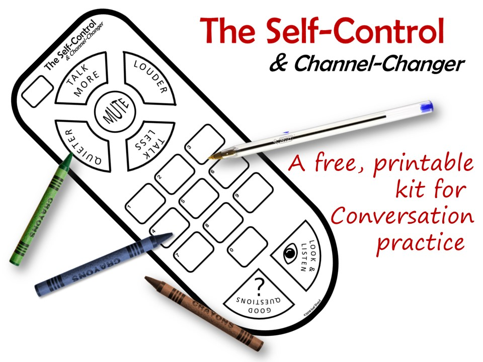 Remote Control Channel Changers Diy Social Communication Prompts For Children With Asd Autismteachingstrategies Com